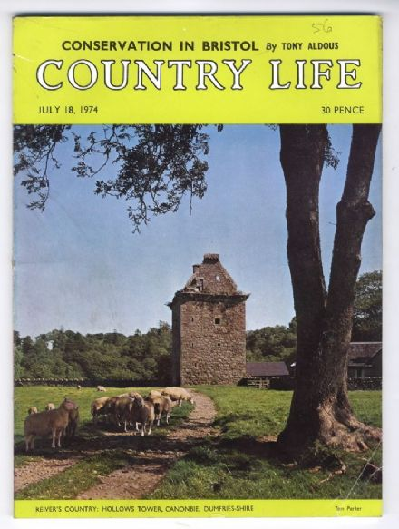 1974 COUNTRY LIFE MAGAZINE 18 July Canonbie BRISTOL DOCKS Welbeck Abbey COCKERMOUTH CASTLE